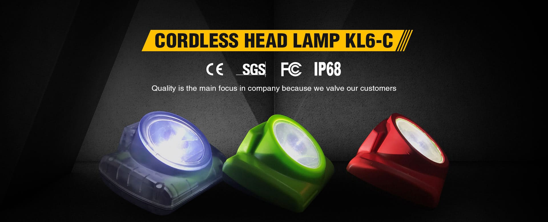 BRANDO LED Cordless Lamp KL6-C