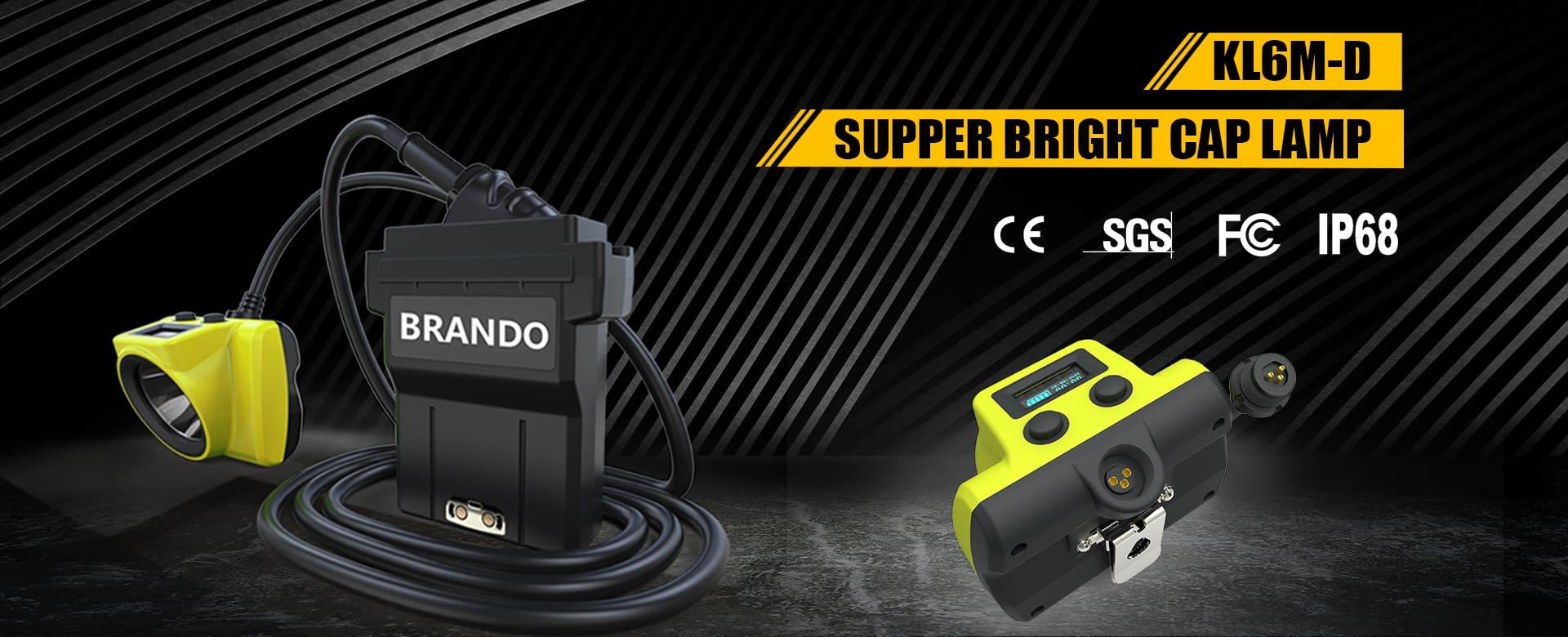 BRANDO New Mining Light KL6M-D