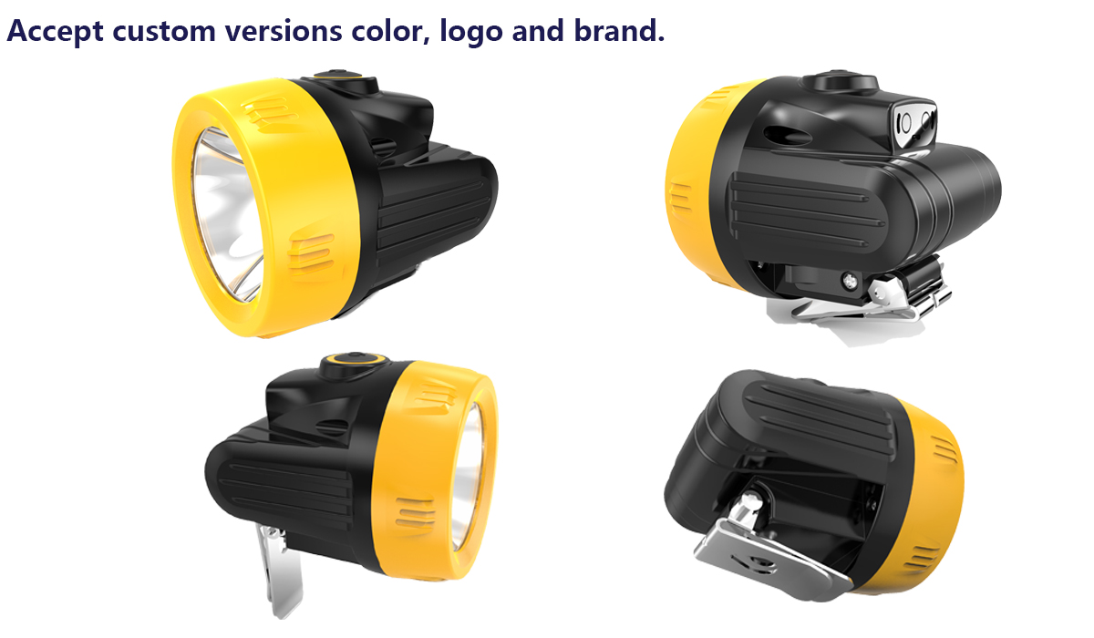 KL2.5LM Ccordless miner cap lamp