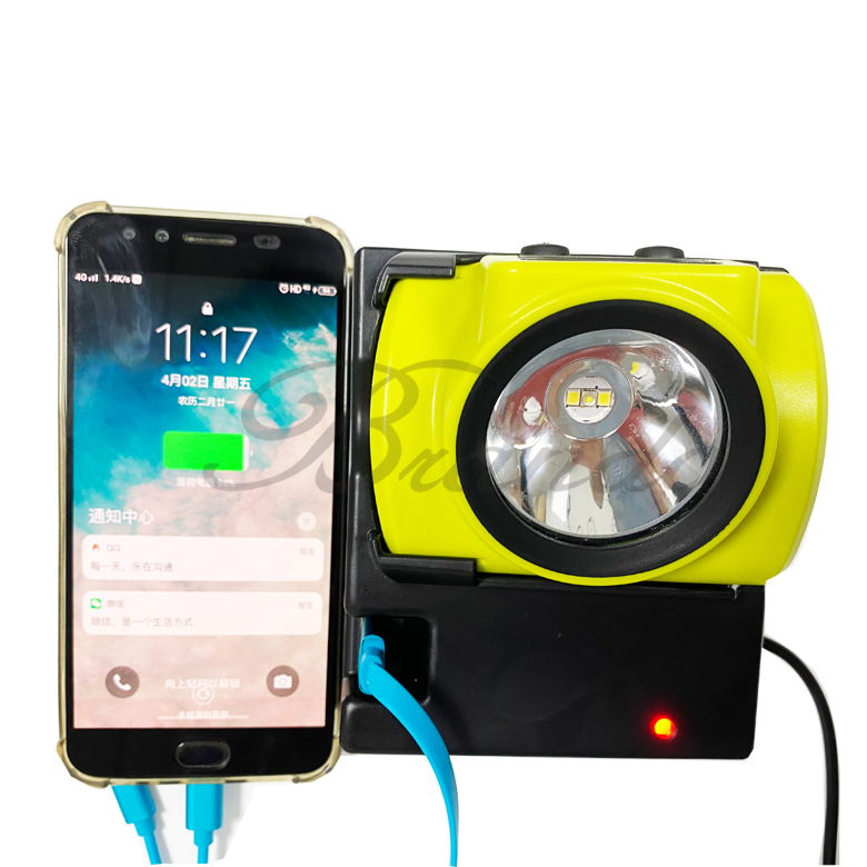 New Portable Charger for Cap Lamp