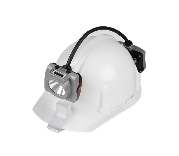 KL6MS New Semi-corded Cap Lamp with RGB Led Blinker (Customized)