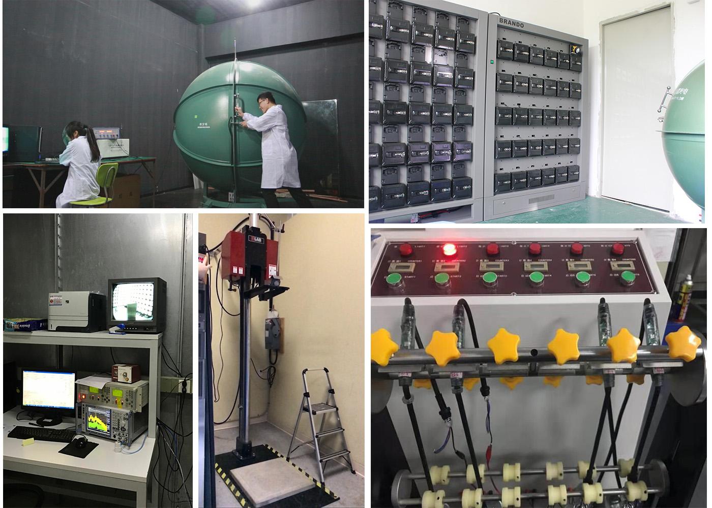 Brando miner cap lamp testing equipment