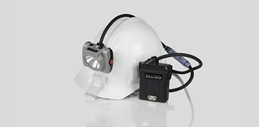 New arrival corded cap lamp with pedestrian visibility light on cord