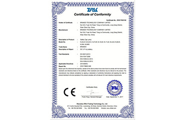 CE approval for KL5LM, KL8LM, KL12LM, KL11LM Cap Lamp