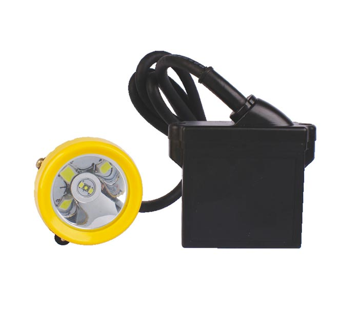 China Intrinsically Safe Mining Headlamps with 6.6Ah Battery Factory