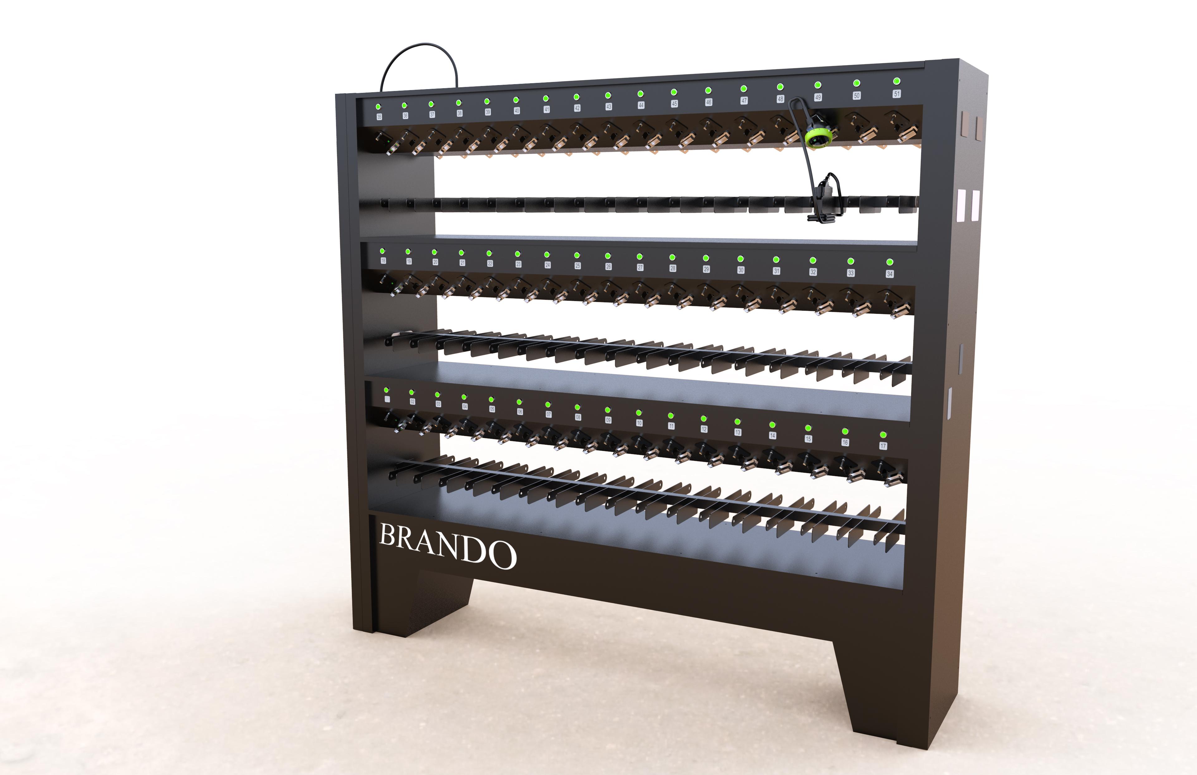 BRANDO new 102 units charger racks