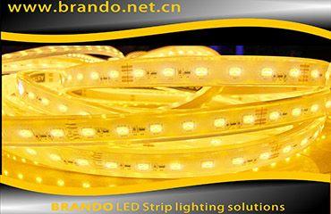 BRANDO 3000K color temperature LED strip lighting