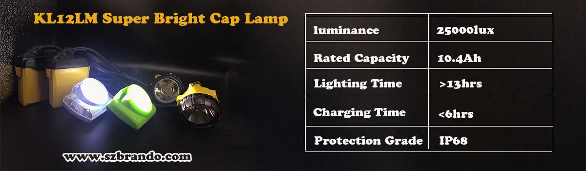 KL12LM Super bright led cap lamp
