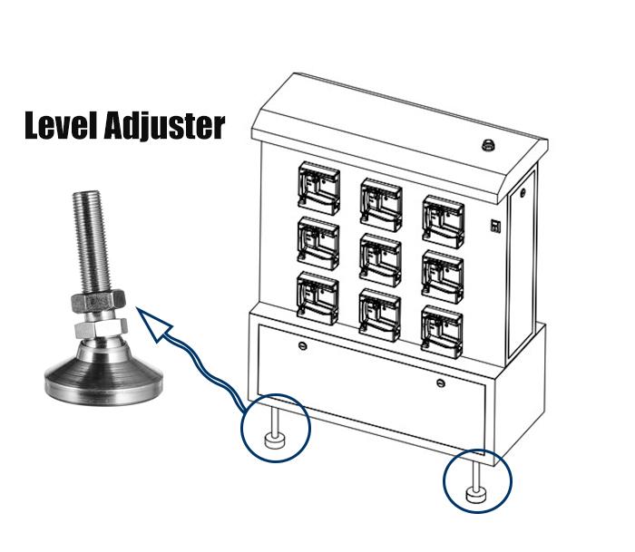 LED mining lamp charger rack